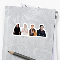 'Core Four Riverdale Minimalist' Sticker by EefaRose