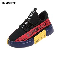 HZXINLIVE Mixed Colors Shoes Woman Casual Fashion Sneaker Ladies Vulcanized Shoes Autumn Comfortable Breathable zapatos de mujer