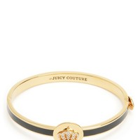 Signature Crown Hinge Bangle by Juicy Couture