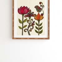 Valentina Ramos In The Garden Framed Wall Art