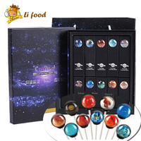 180g Star Series Candy 1 box/10pcs Lollipop candy,imported food, Snack for kid's gift