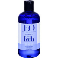 Eo Products Bubble Bath Serenity French Lavender With Aloe - 12 Fl Oz