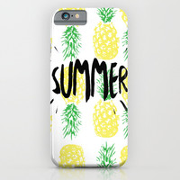Summer  iPhone & iPod Case by Ashley Hillman