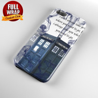 Tardis Doctor Who Full Wrap Phone Case For iPhone, iPod, Samsung, Sony, HTC, Nexus, LG, and Blackberry