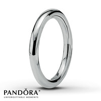 Pandora Smooth Ring Sterling Silver
