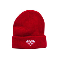 Brilliant Fold Beanie in Red