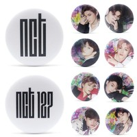 KPOP NCT  Chain Album Brooch Pin Badge