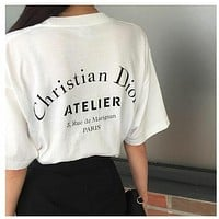 Dior Fashion Women T-shirt