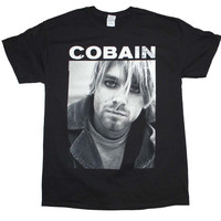 Kurt Cobain Photo T Shirt