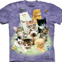 Kittens Shirt - Tie Dye Kitty Tee