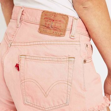 Urban Renewal Vintage Customised Pink Overdyed Jeans - Urban Outfitters