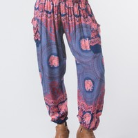Nellie Dark Blue Harem Pants