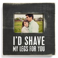 Primitives by Kathy 'Shave My Legs' Box Picture Frame (4x6)