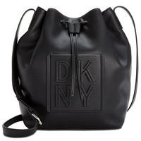 DKNY Tilly Stack Drawstring Bucket, Created for Macy's & Reviews - Handbags & Accessories - Macy's