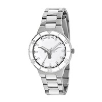 Game Time Pearl Series Texas Longhorns Stainless Steel & White Ceramic Mother-of-Pearl Watch - COL-PEA-TEX - Women (Grey)