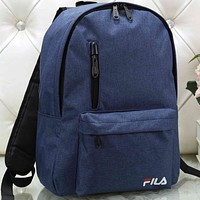 Fila Women Men Fashion Pattern Backpack Bag