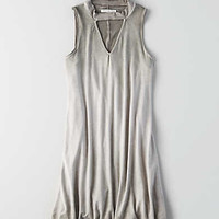 AEO Cutout Shift Dress, Olive