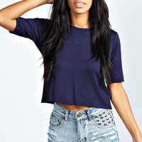 Libby Studded Front Distressed Denim Hotpants