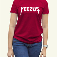 Kanye West Yeezus Women Clothing High Quality tee S,M,L and XL