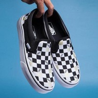DCCKBWS VANS Classic Checkerboard Slip-On Old Skool Flats Shoes Sneakers Sport Shoes