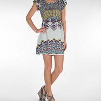 Angie Patterned Dress