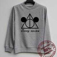 Deathlys Hallows Shirt Disney Hallows Sweatshirt Sweater Hoodie Shirt – Size XS S M L XL