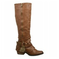 Not Rated Two Of Hearts Boot | Women's - Tan