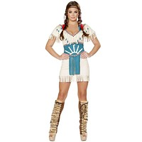 Spirit Animal Indian Girl Halloween Costume