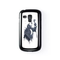 Wolf Song 3 Black Hard Plastic Case for Samsung Galaxy S3 Mini by Balazs Solti