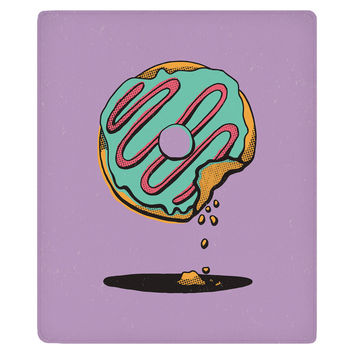 Donut Shop Fleece Throw