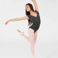 Free Shipping - Adult Mock-Wrap Dance Leotard by BAL TOGS