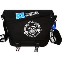 Monsters University Shoulder Bag Cartoon Casual Sport Bag School bag messenger bag for ANIME  fans