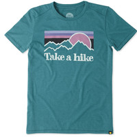 LIFE IS GOOD 44570 TEE COOL TAKE A HIKE