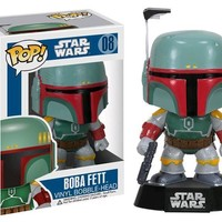 Boba Fett Star Wars Funko Pop! Vinyl Figure #08