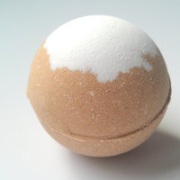 Caramel Latte Bath Bomb, Bath Fizzy, Made with Organic Cocoa, Gift Ideas, Gifts For Her, Bath Bombs