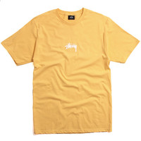 HD Stock T-Shirt Faded Yellow