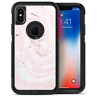Pink 19 Textured Marble - iPhone X OtterBox Case & Skin Kits