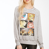 Lion King Heathered Pullover