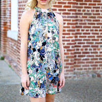 playfully yours dress - navy