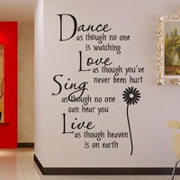 wall sticker Dance as.. 0776 stickers manufacturers cartoon style living room bedroom, children's room wall decoration stickers for home deco vinyl = 1946072772