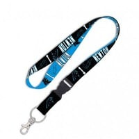 NFL Cam Newton Jersey # 1 Detachable Buckle Lanyard Carolina Panthers