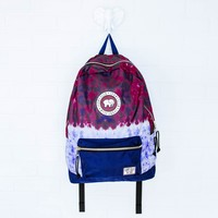 Purple Tie-Dye Backpack
