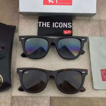 Ray-Ban RB 2140 Original Wayfarer Brown Black Sunglasses