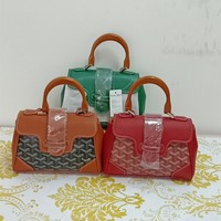 """Goyard""Simple Personality Solid Color Women Large Capacity Fold Single Shoulder Pack Handbag"