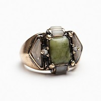 Free People Womens Mixed Stones Ring