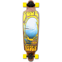 Dusters Soul Rider Brown & Yellow Longboard Complete at Zumiez : PDP