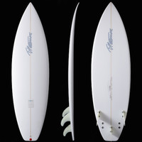 Timmy Patterson Surfboards-Clam 5'7""
