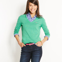 Shop Sweaters: Candlewood V-Neck Sweater for Women | Vineyard Vines
