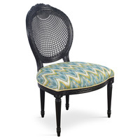 Taylor Burke Home, Aqua Plantation Accent Chairs, Pair, Dining Chair Sets