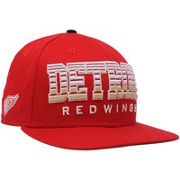 New Era Detroit Red Wings Red Fade 9FIFTY Snapback Adjustable Hat